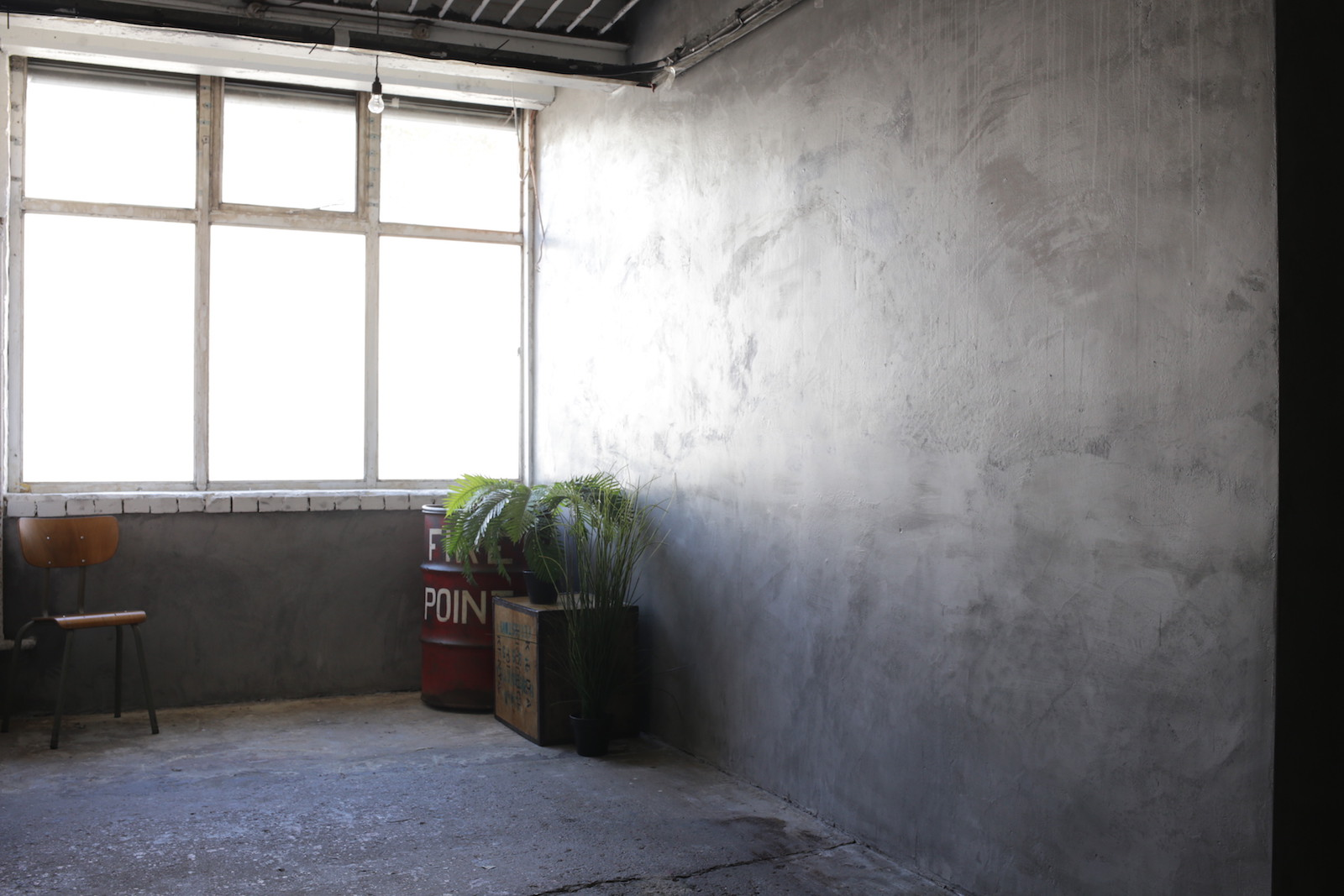 Buckle Factory Grey wall 2
