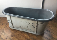 Vintage zinc bath - £400