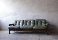 Green Danish Sofa £60
