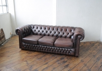 Brown Chesterfield - £100 + VAT