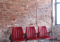 Red Theatre Chairs _ £60 + vat