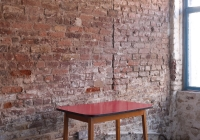 Small red table - £40 + vat