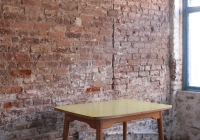 Small yellow table - £40 + vat