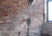 Vintage floor lamp - £70 + vat