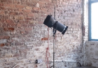 Vintage theatre light - £80 + vat