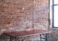 Vintage trestle table - £50 + vat
