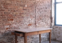 farmhouse laminate table - £60 + vat